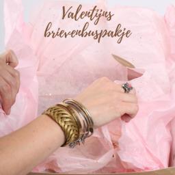 Valentijns brievenbuspakketje Lekker Liefs